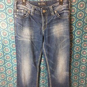 Silver Jeans Suki surplus
